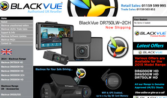 Blackvue UK Website