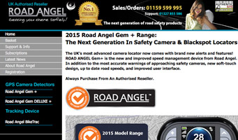 Road Angel Store Website