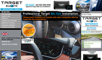 Target Blu Eye UK Website