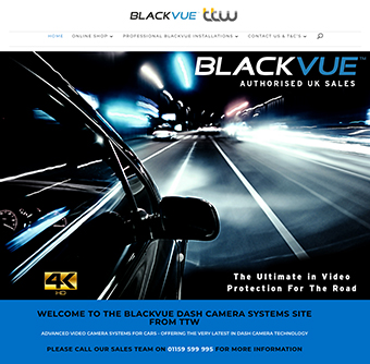 Blackvue UK Website Store - Dash Cameras