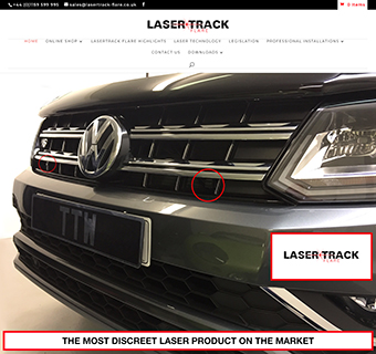 Laser Track Flare UK Authorised Website